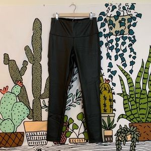 Vera Wang Faux Leather Leggings